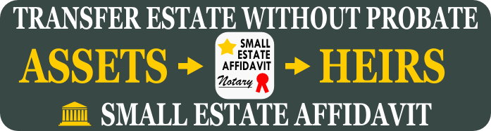 Download Free Small Estate Affidavit Form