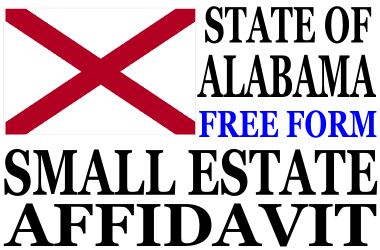 Small Estate Affidavit Alabama