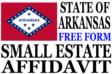 Small Estate Affidavit Arkansas
