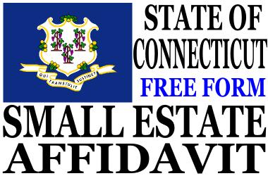 Small Estate Affidavit Connecticut