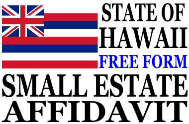 Small Estate Affidavit Hawaii