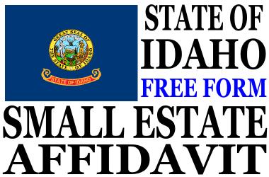 Small Estate Affidavit Idaho