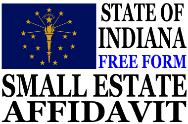 Small Estate Affidavit Indiana
