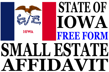 Small Estate Affidavit Iowa
