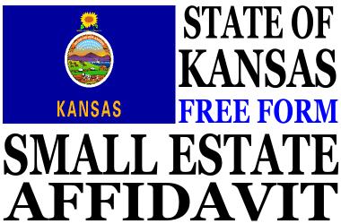 Small Estate Affidavit Kansas