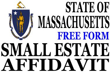 Small Estate Affidavit Massachusetts
