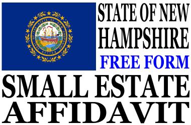 Small Estate Affidavit New Hampshire