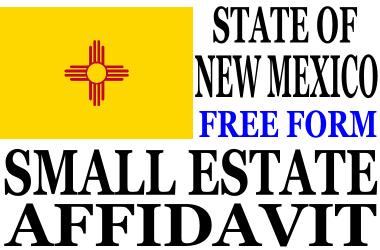 Small Estate Affidavit New Mexico