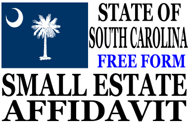 Small Estate Affidavit South Carolina