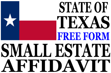 Small Estate Affidavit Texas