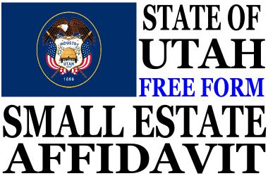 Small Estate Affidavit Utah