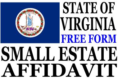 Small Estate Affidavit Virginia