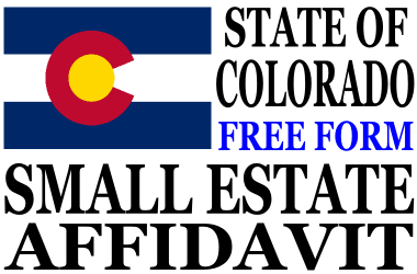 Small Estate Affidavit Colorado