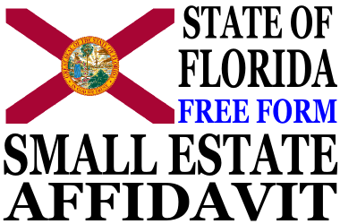 Small Estate Affidavit Florida