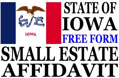 Small Estate Affidavit Iowa