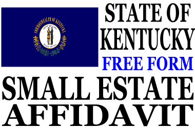 Small Estate Affidavit Kentucky