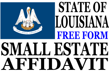 Small Estate Affidavit Louisiana