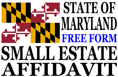 Small Estate Affidavit Maryland