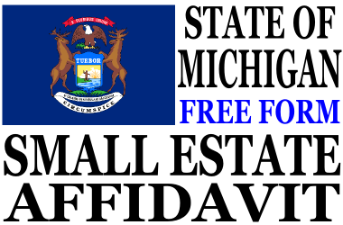 Small Estate Affidavit Michigan