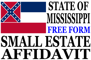 Small Estate Affidavit Mississippi
