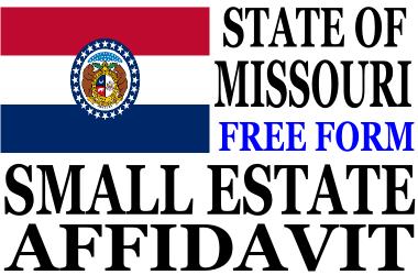 Small Estate Affidavit Missouri