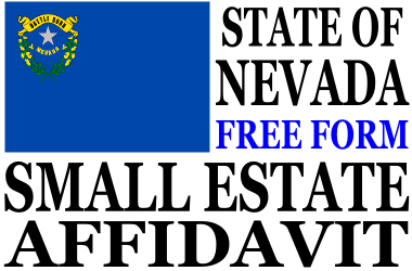 Small Estate Affidavit Nevada