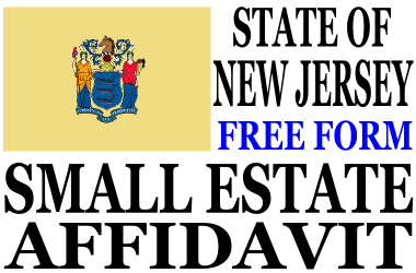 Small Estate Affidavit New Jersey