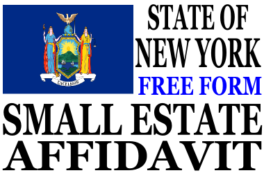 Small Estate Affidavit New York