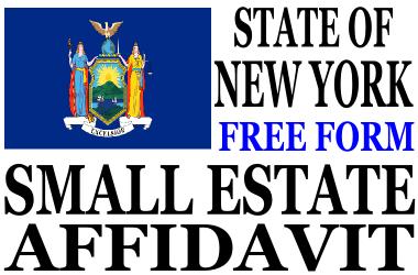 Small Estate Affidavit New York
