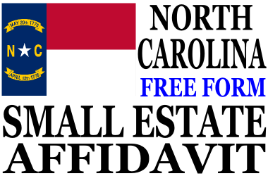 Small Estate Affidavit North Carolina