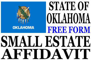 Small Estate Affidavit Oklahoma