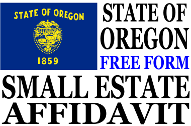 Small Estate Affidavit Oregon