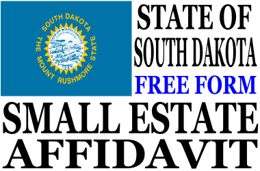 Small Estate Affidavit South Dakota