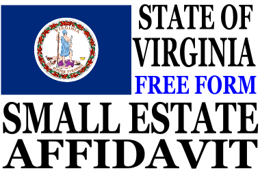 virginia small estate affidavit Small Estate Affidavit Virginia - Small Estate Affidavit Form