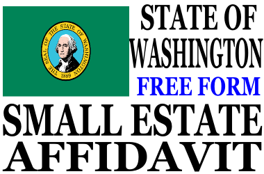 Small Estate Affidavit Washington State